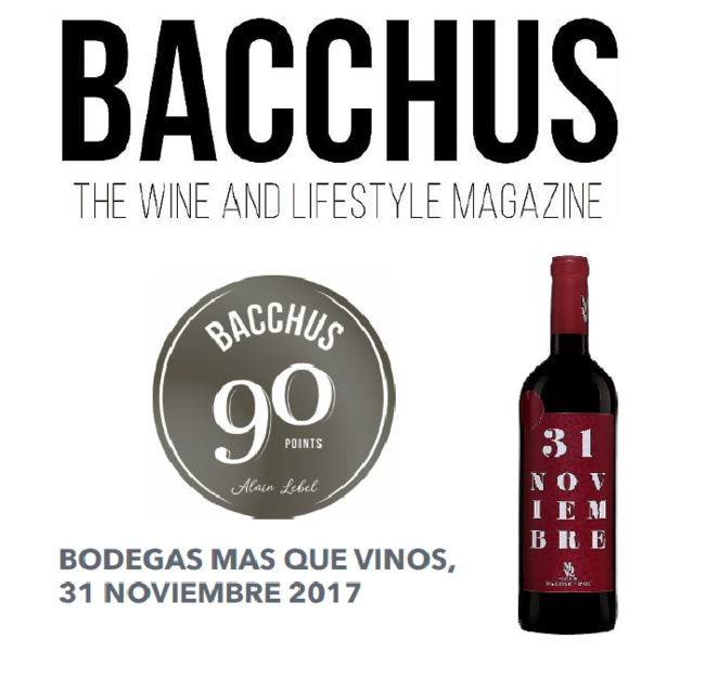 Bacchus. The Wine and Lifestyle Magazine.